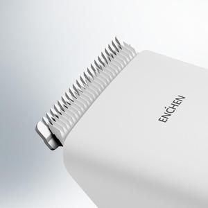 Image 3 - W magazynie Youpin Enchen Boost USB elektryczna maszynka do strzyżenia włosów dwie prędkości ceramiczne nożyce do włosów szybkie ładowanie włosów trymer dzieci