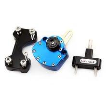 Steering Damper For HONDA CBR400R CBR500R CBR 400R/500R 2013-2018 Motorcycle Adjustable Stabilizer Reversed Safety Bracket Kit цены