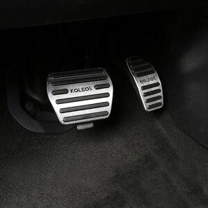 Image 2 - Pédales daccélérateur de voiture, frein de voiture, en alliage daluminium, couvercle antidérapant pour Renault Kadjar Koleos 2016, 2017 et 2018, accessoires