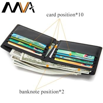 leather wallet men small mens wallets luxury short genuine brand credit card fashion heren portemonnee  9061