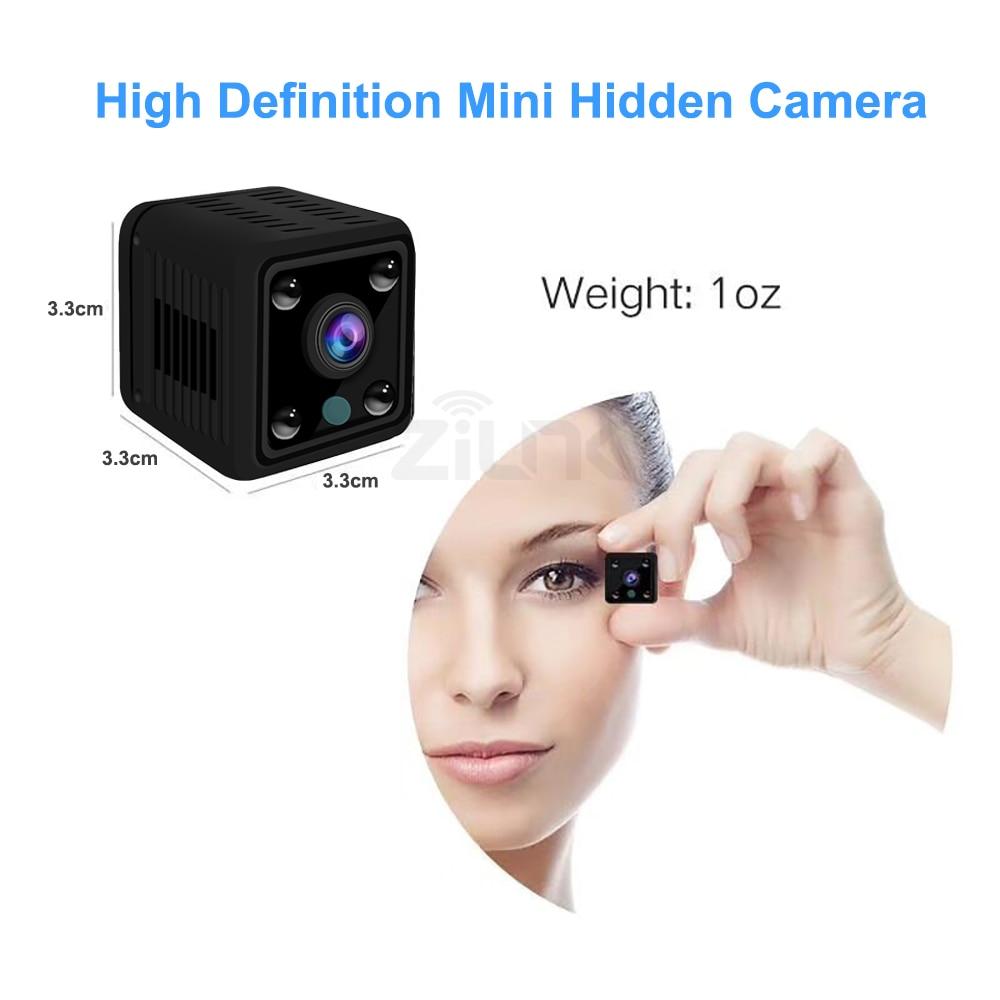 Image 4 - Mini caméra caméscope HD IP 1080P  Caméra à Vision nocturne, WIFI, batterie intégrée, petite caméra de Surveillance sans filCaméras de surveillance   -