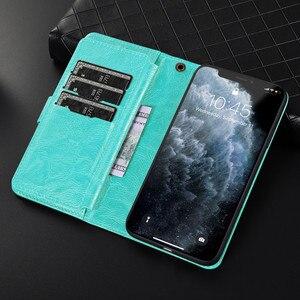 Image 3 - Luxury Detachable Leather Wallet Phone Case for iPhone 12 Pro Max Cover Mini 11 SE 2020 Xr X Xs 8 7 Plus 6 6s Zipper Flip Bumper