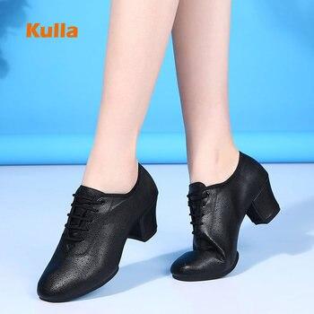 Women Latin Dance Shoes Woman's Ballroom Tango Salsa Practice Jazz Dancing Soft Sole Ladies Sneakers - discount item  44% OFF Dance