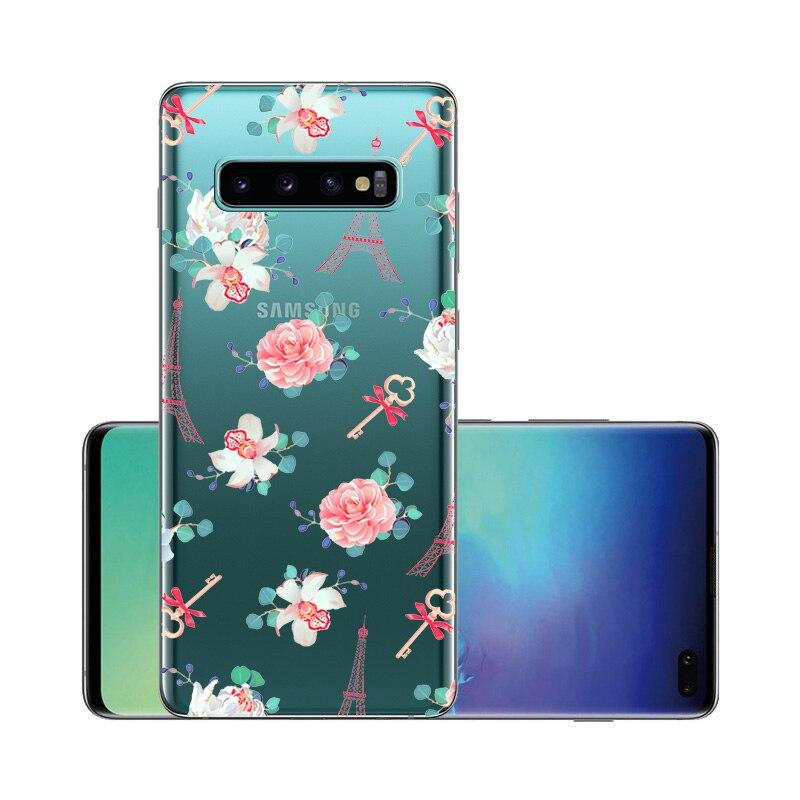 Coque For Samsung Galaxy S10 Case S10plus Cover Silicone Soft Phone Case For Samsung S10 Plus G975F S 10 SM-G973F S10E Fundas