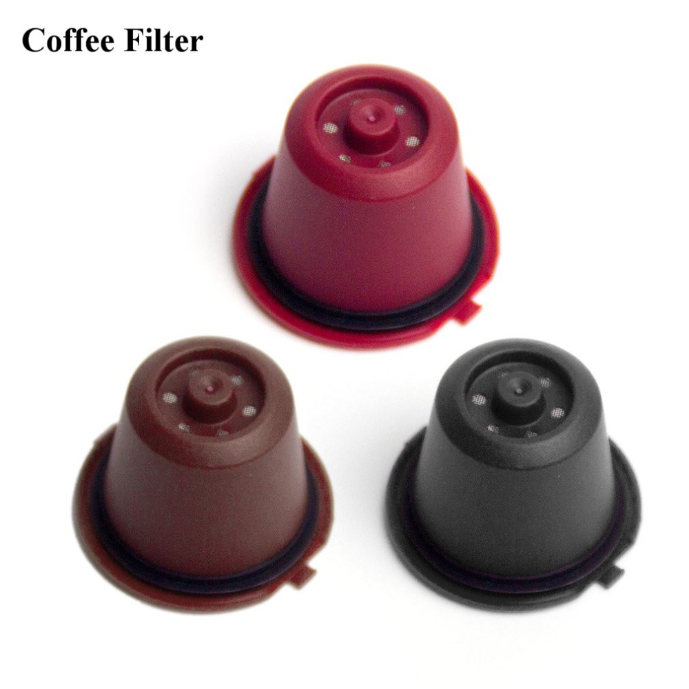 2018 Coffee Tea Pod Filters Dolce Gusto Cafe Reusable Coffee Capsule Filter Coffee Accessoriescoffee Kitchen Filter Dropshipping