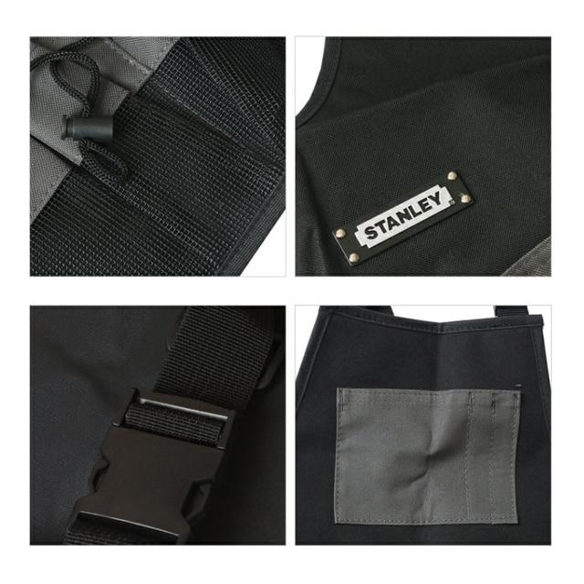 Stanley Convenient Durable Work Aprons With Tool Pockets Nylon Vest Tool Apron Belt Adjustable Garden Tools Apron For Men Women 5