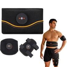 Обхват талии триммер электрический стимулятор мышц похудение тела ремень-вибратор Абдо тренировки Фитнес массажер EMS Вес потери