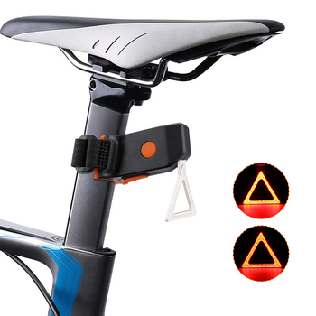 Bicycle Multi Lighting Modes Bicycle Light USB Charge Led Bike Light Flash Tail Rear Bicycle Lights for Mountains Bike Seatpost image