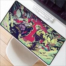 XGZ Jojo Adventure Keyboards Mat Rubber Gaming Mousepad Desk Customized Laptop PC Large anime Mouse Pad  desk mat