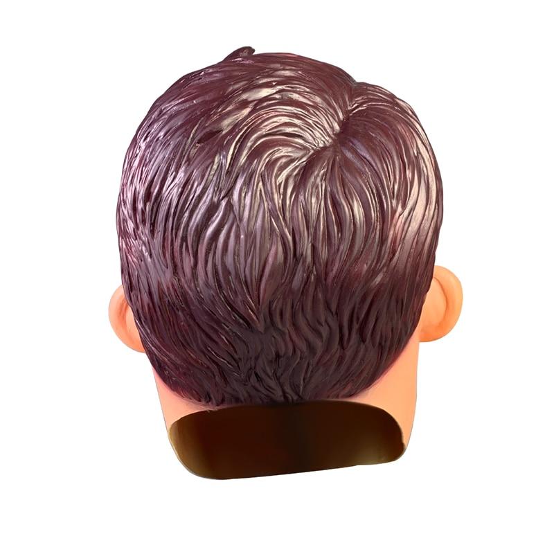 Image 5 - Horror gra witam sąsiada maska Cosplay rekwizyty lateksowa pełne głowy kask kobiety mężczyźni Halloween sąsiad maskiAkcesoria do strojów dla chłopców   -