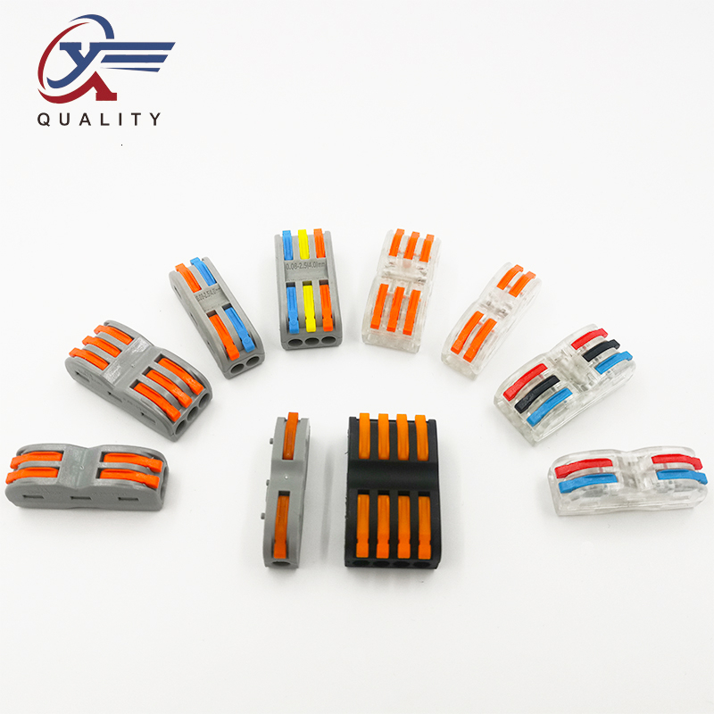 PCT-222 Electrical Wiring Terminal Household Wire Connectors Fast Terminals For Connection Of Wires Lamps And Lanterns SPL-1/2/3