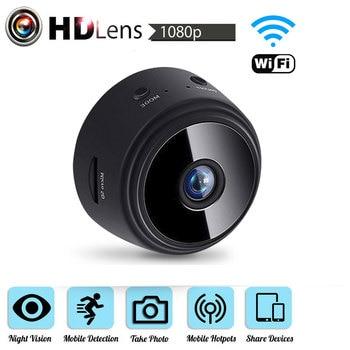 Wifi Mini IP Camera 1080P Night Vision Camcorder Motion DVR Micro Camera Sport DV Video small Camera Remote Monitor P2P Camera 1080p h 264 camera wifi mini camera ir night vision wifi cam mini dv dvr camcorder