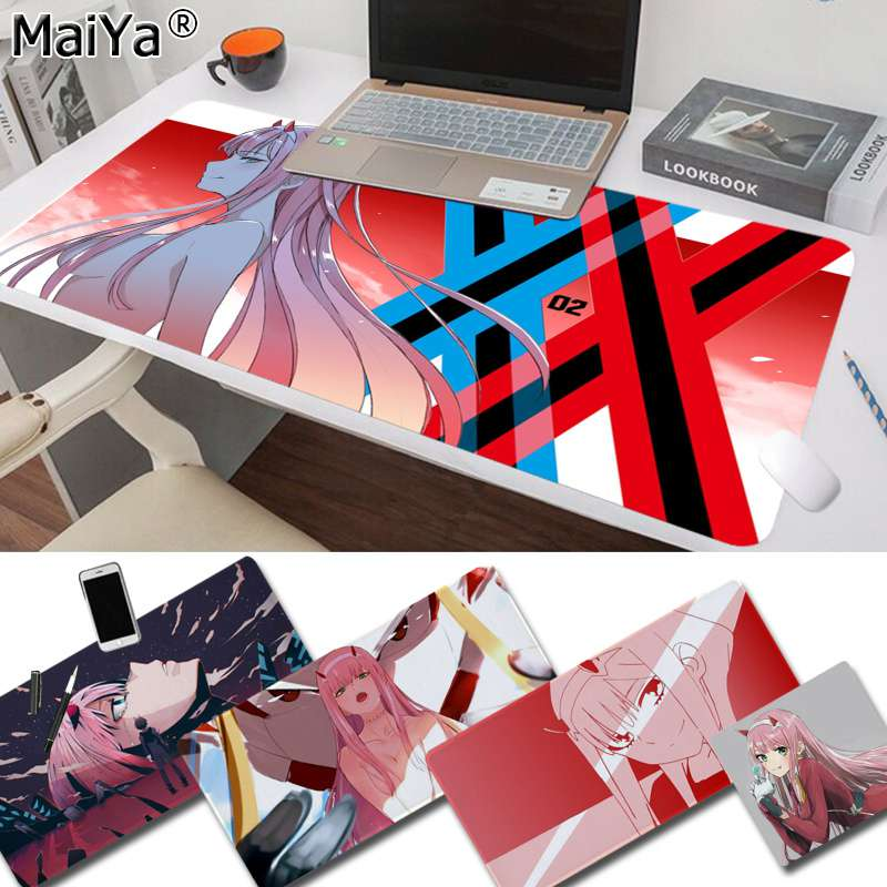 Maiya My Favorite Anime Darling In The FranXX Laptop Computer Mousepad Free Shipping Large Mouse Pad Keyboards Mat