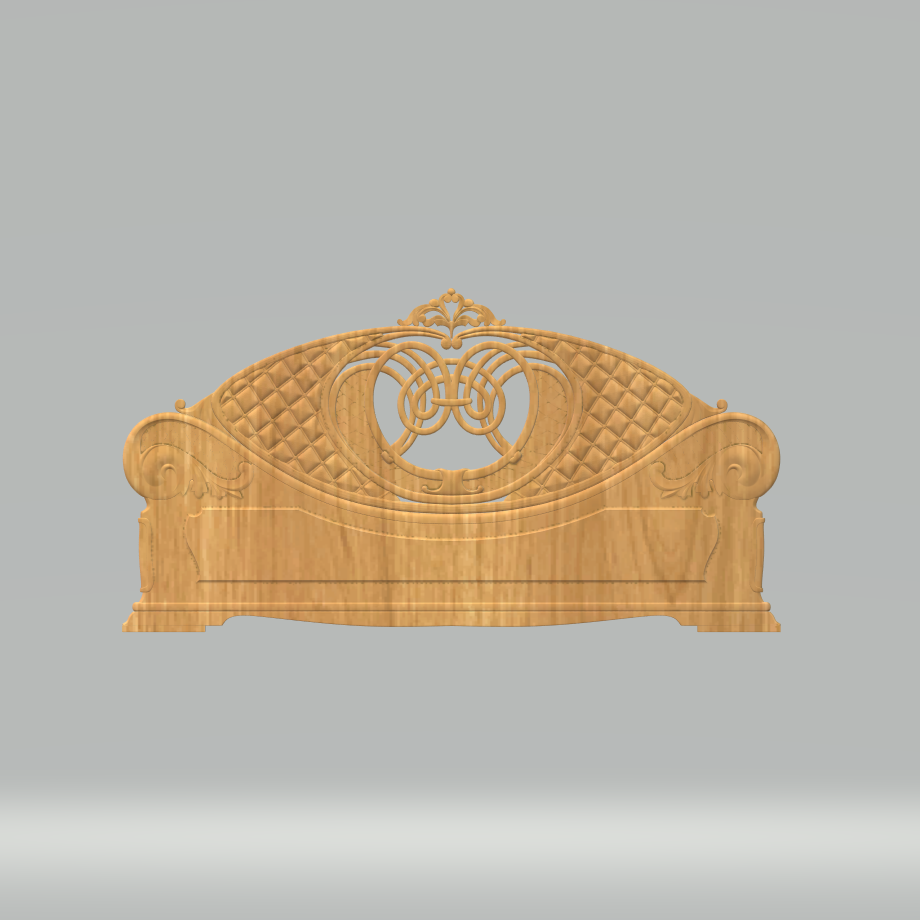 Bedroom Furniture STL Format Design Files CNC Router Carving Engraving Whole Set Of Furnitures ArtCAM Aspire Files