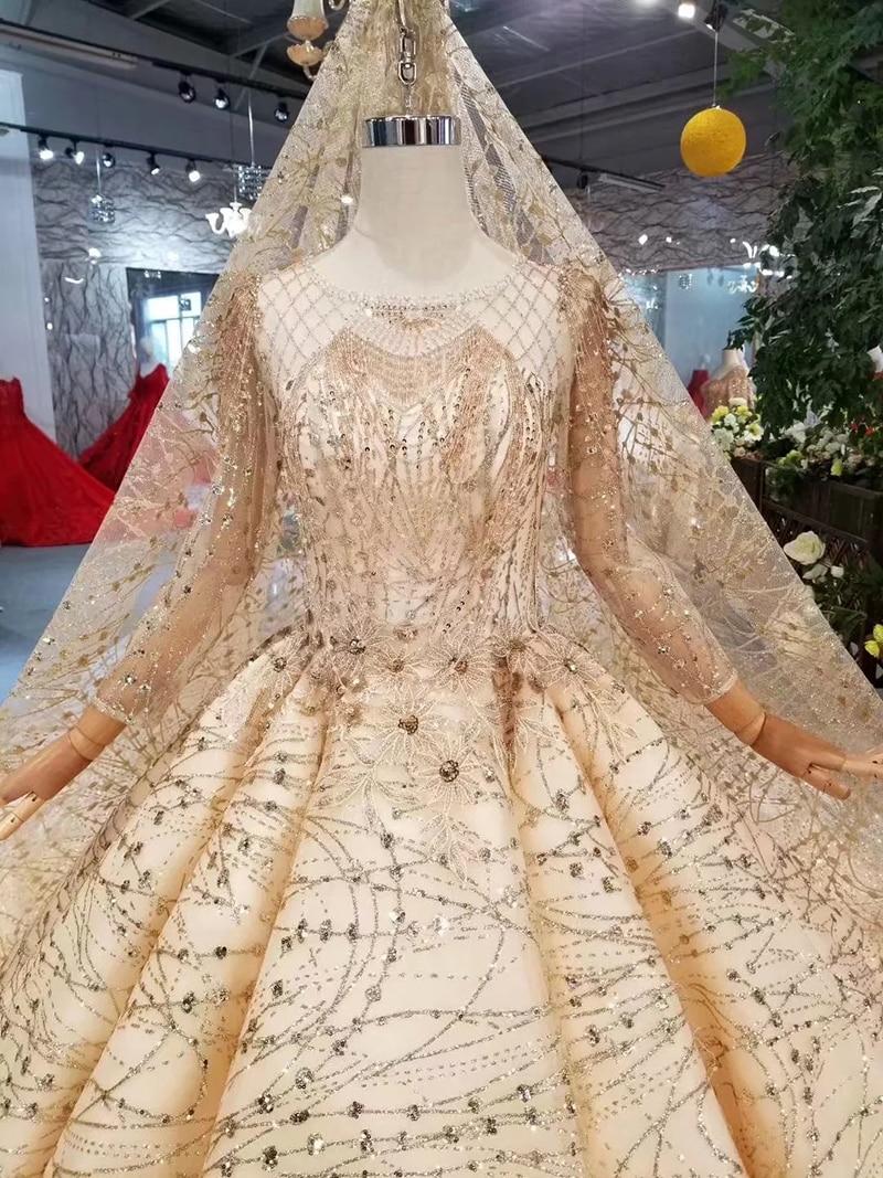 Sonderaktion 19% OFF - BGW 19ht Luxus Goldene Abendkleider Mit