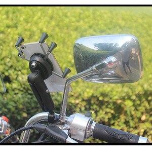 Image 3 - 65mm או 95mm קצר ארוך כפול שקע זרוע עבור 1 אינץ כדור בסיסי עבור Gopro מצלמה אופניים אופנוע טלפון מחזיק עבור Ram הר