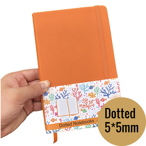 Image 1 - A5 Size Journals And PU Leather Dot Grid Notebook 5*5mm Dotted bujo