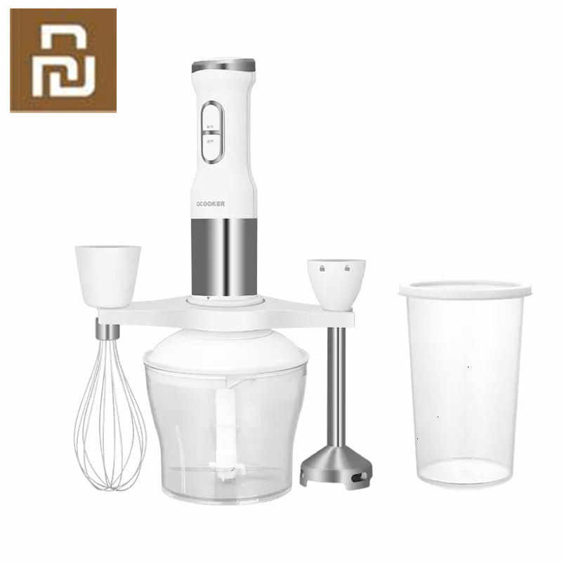 New QCOOKER CD HB01 hand Blender Electric Kitchen Portable Food Processor  mixer juicer Multi function Of Quick|Blenders| - AliExpress