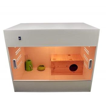 Hamster mini hedgehog honey bag shrew special luxury breeding box wooden  insulated hamster cuttlefish nest squirrel villa