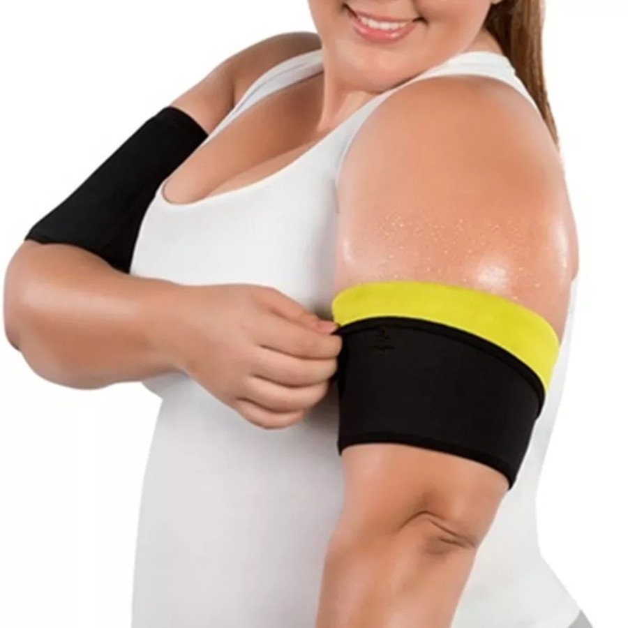 1Pair Women Arm Shaper Slimming Trimmer Shapers Arm And Waist Control Shapewear Adelgazar Sleeve Slimmer Arm Pad  Weight Loss