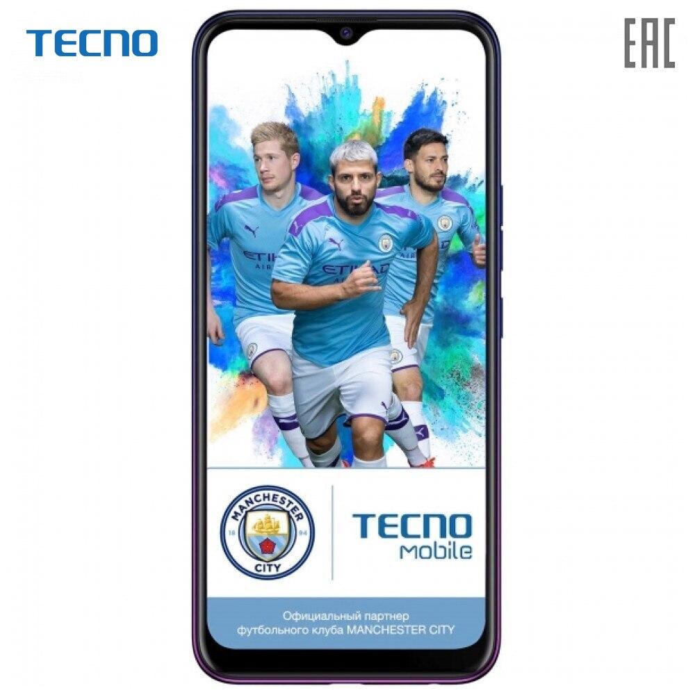 Teléfonos móviles TECNO CC7 oscuro Jade teléfono smartphone smartphones android puro de gran capacidad de la batería potente newmodel CC7 CAMON 12 6,5