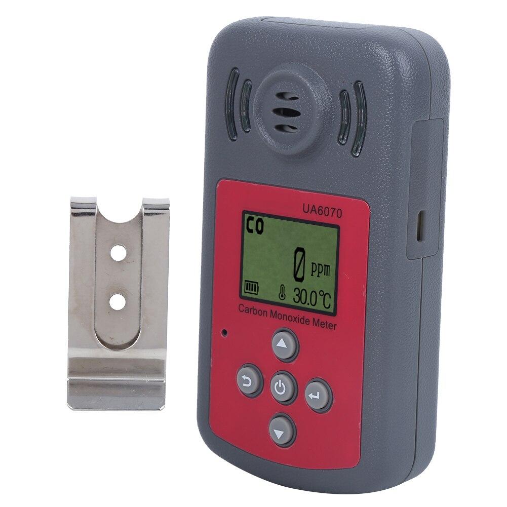 Radient Carbon Monoxide Meter Handheld Portable Co Gas Analyzer High Accuracy Detector Ua6070 Carbon Monoxide Meter