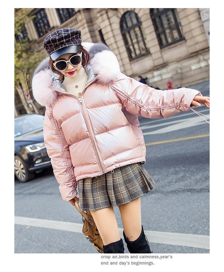Hb9ed98e0c11f48539a728c5020024675f Natural Fox Fur Winter Jacket Women Gold Warm Parka Real Fur Down Coat Female White Duck Down Jacket Winter Waterproof Overcoat