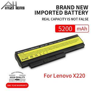 PINZHENG 5200mAh 6 CellsLaptop Battery For Lenovo ThinkPad X220 X220i 42T4901 42T4940 42T4942 ASM 42T4862 FRU 42T4861 Battery