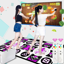 Dance-Mat Double-Players for PC TV with Wireless-Receiver Remote-Controller Sense-Game