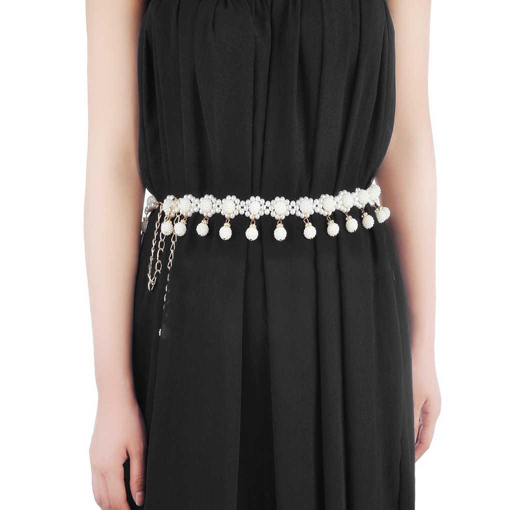 Frauen Erwachsene Kinder Perlen Bauchtanz Gürtel Tägliche Hochzeit Kleid Schärpe Bauchtanz Taille Kette