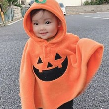 Baby Kids Toddler Boys Girls Winter Hooded Cape Cloak Poncho Coat Hoodie Outfit