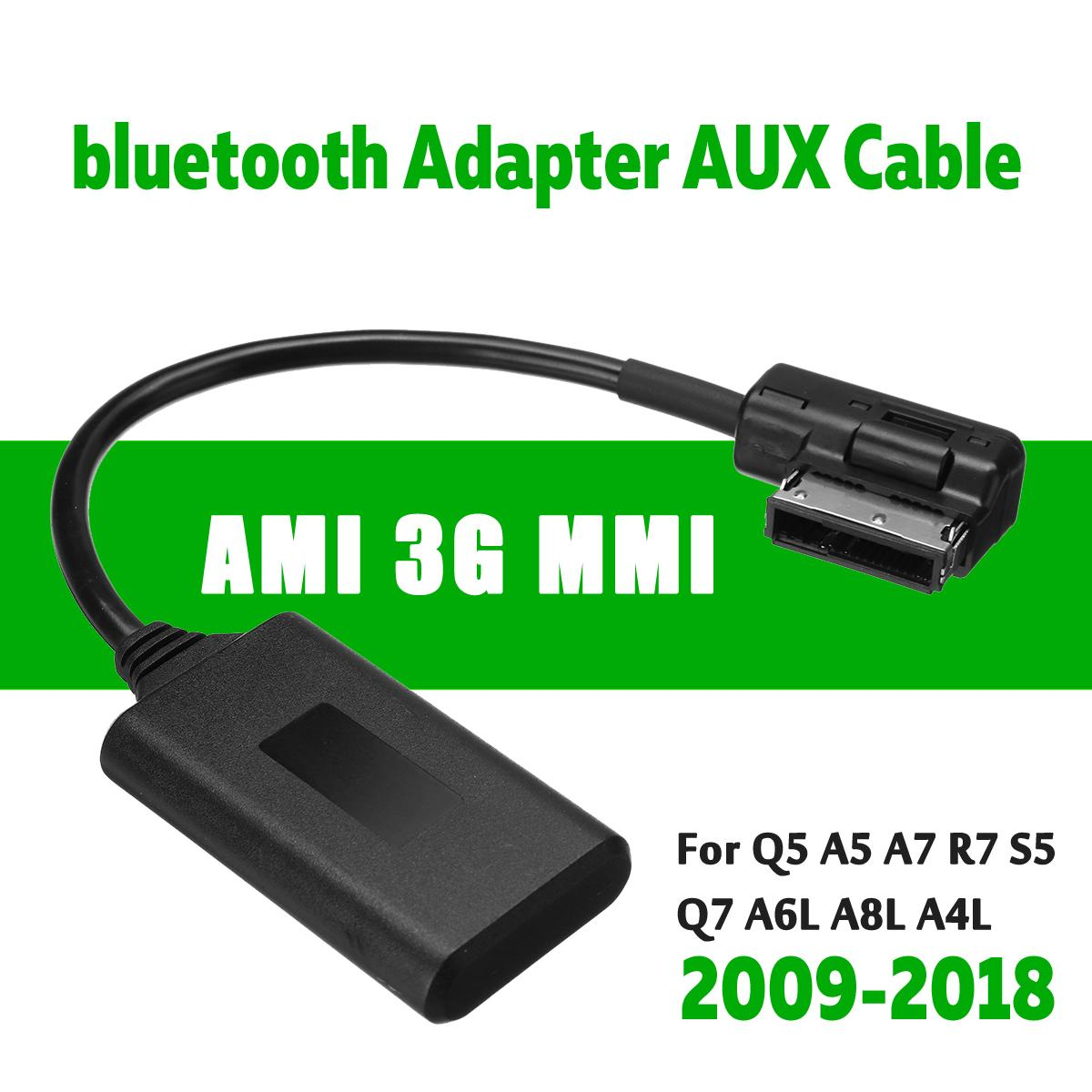 AMI MMI bluetooth Module Adapter Aux Cable Wireless Audio Input Aux Radio Media Interface For Audi Q5 A5 A7 R7 S5 Q7 A6L A8L A4L(China)