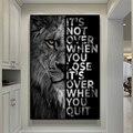 На стену для домашнего декора анималистический Настенный декор настенная живопись плакат со львом для более чем в тех случаях, когда вы вых...