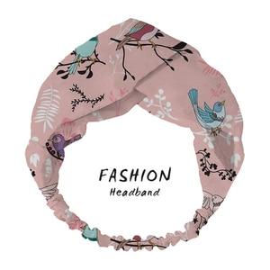 ¡Moda 2020! Diadema de pájaro para mujer, Bandanas Vintage, diadema, accesorios para el cabello, diadema para mujer