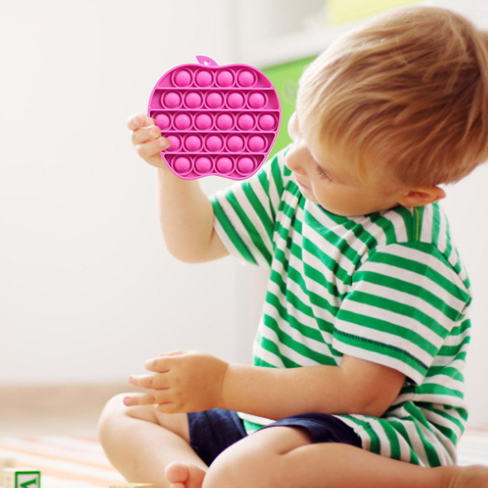 Adult Toys Fidget Rainbow Bubble-Sensory Squishy Pop-It Push-Pops Needs Anti-Stress Children img3