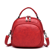 4 In 1 Multifunctional Backpack Women Soft PU Leather Backpack Ladies Travel Bags Convertable Shoulder bags 2020 Sac A Dos Femme