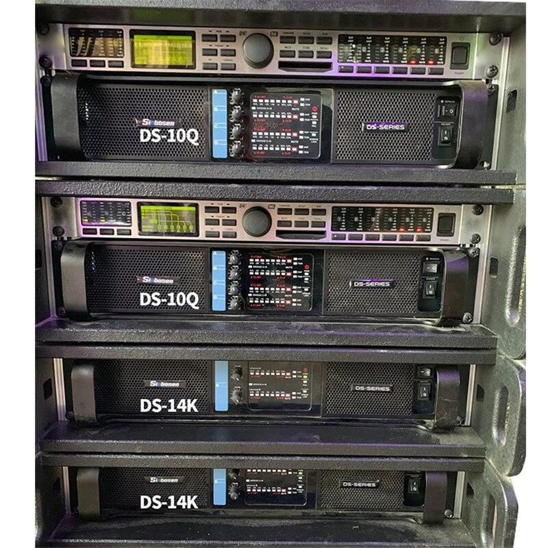4 Channel Professional Power Amplifier 1350 Watt Aoyue DS-10Q Amplifiers Factory