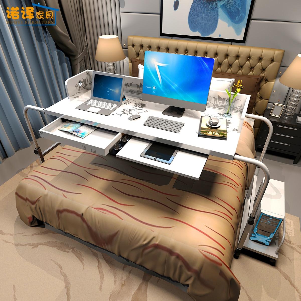 Nuo Translation Home Bedside Creative Adjustable Mobile European Notebook Desktop Double Cross Bed Seamless Computer Table
