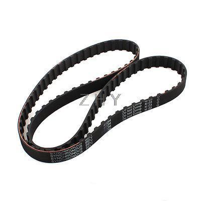 XL 340//348//350//360 XL Black Timing Synchronous Belt 5.08mm Pitch 10mm Width