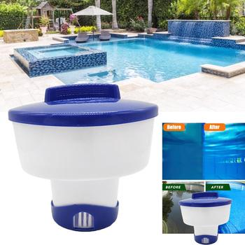 10 inch Magic Pool Cleaning Floating Dispenser Effervescent Chlorine Tablets Cage Disinfectant Swimming Pool Clarifier Chemical practical pool cleaning effervescent tablets disinfectant effervescent pool cleaning tablet cage
