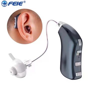 Akumulator aparaty słuchowe cyfrowe aparaty słuchowe RIC regulowany dźwięk wzmacniacz przenośny głuchy osoby w podeszłym wieku darmowa wysyłka G-28D tanie i dobre opinie FEIE Chin kontynentalnych bte mini rechargeable Micro rechargeable hearing aid Can be adjusted Rehabilitation Therapy Supplies