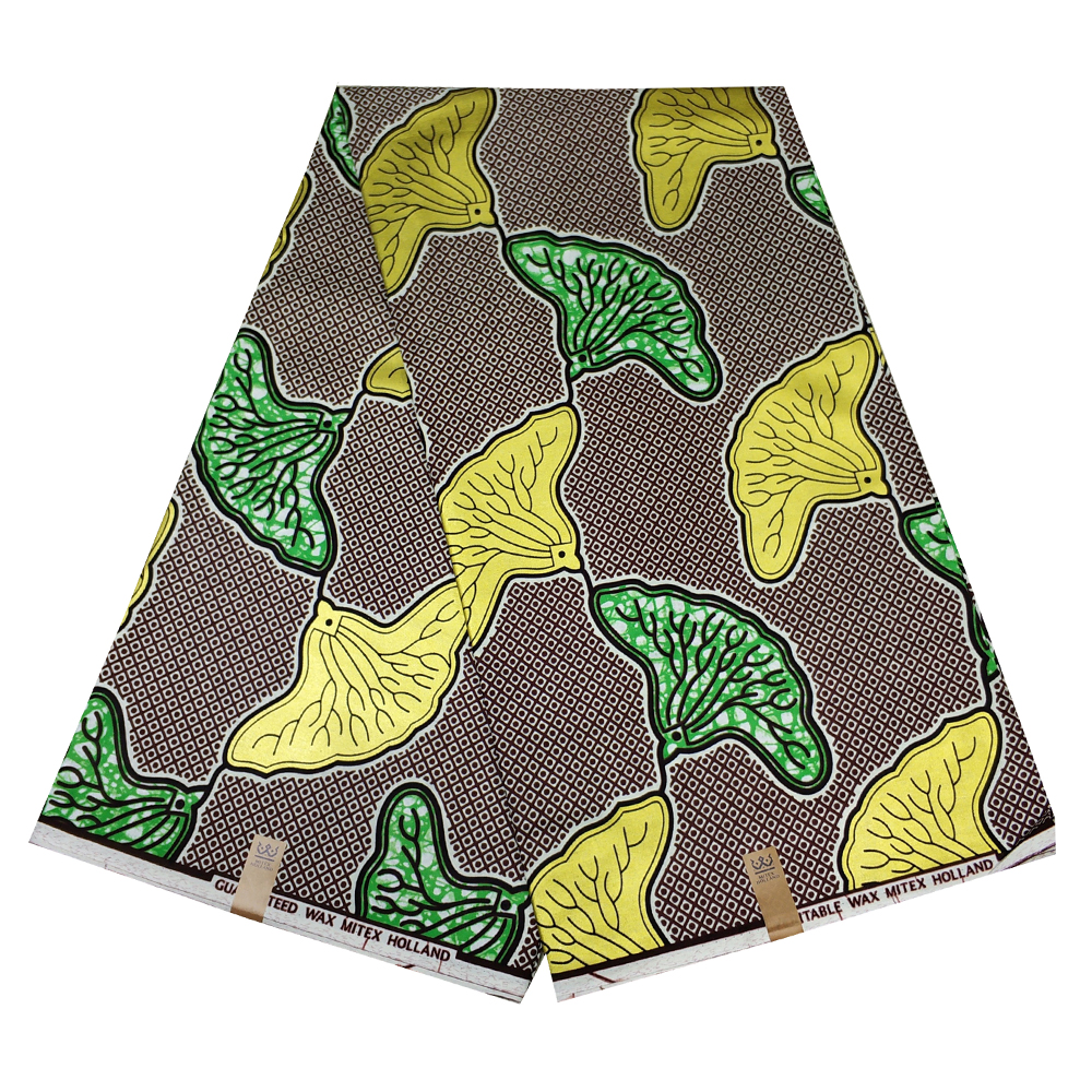 African Golden Wax Print Fabric African Print Material Lady Dress DIY Wax Fabric Nigeria Style 100% Cotton 6yards/free Shipping