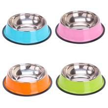 Круглая миска для домашних животных кошек собак еды миски из