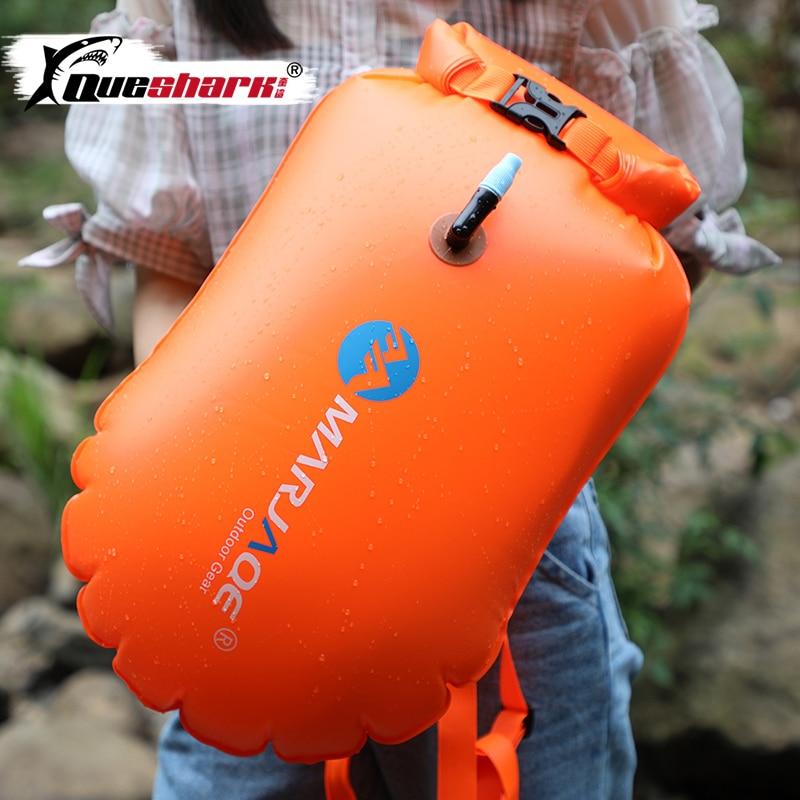 Bolsa hinchable multiuso de PVC grueso para nadar, bolsa de almacenamiento que ahorra vida, bolsa de deriva impermeable, bolsa de rescate