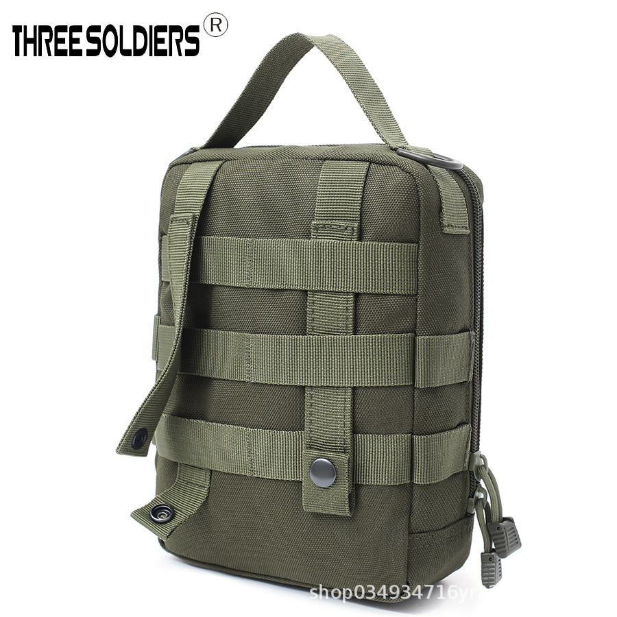 New Style Army Fans Style Tactical Molle Medical Kit Outdoor Camping Multi-functional Toolkit Large-Volume Wallet