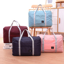 Storage Bag Foldable Luggage Bag Portable Travel Bag Large Capacity Shoulder Bag Organizer Unisex Duffle Bags Dropshipping