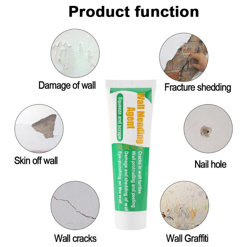Practical Wall Holes Repairing Cream Grout Beautiful Sealant Walls Mending Ointment For Household Room Wall Supplies