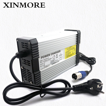 XINMORE AC-DC 87.6V 4.5A 4A Lifepo4 lithium Battery Charger for 72V (76.8V) Power Polymer Scooter Ebike for TV Receivers