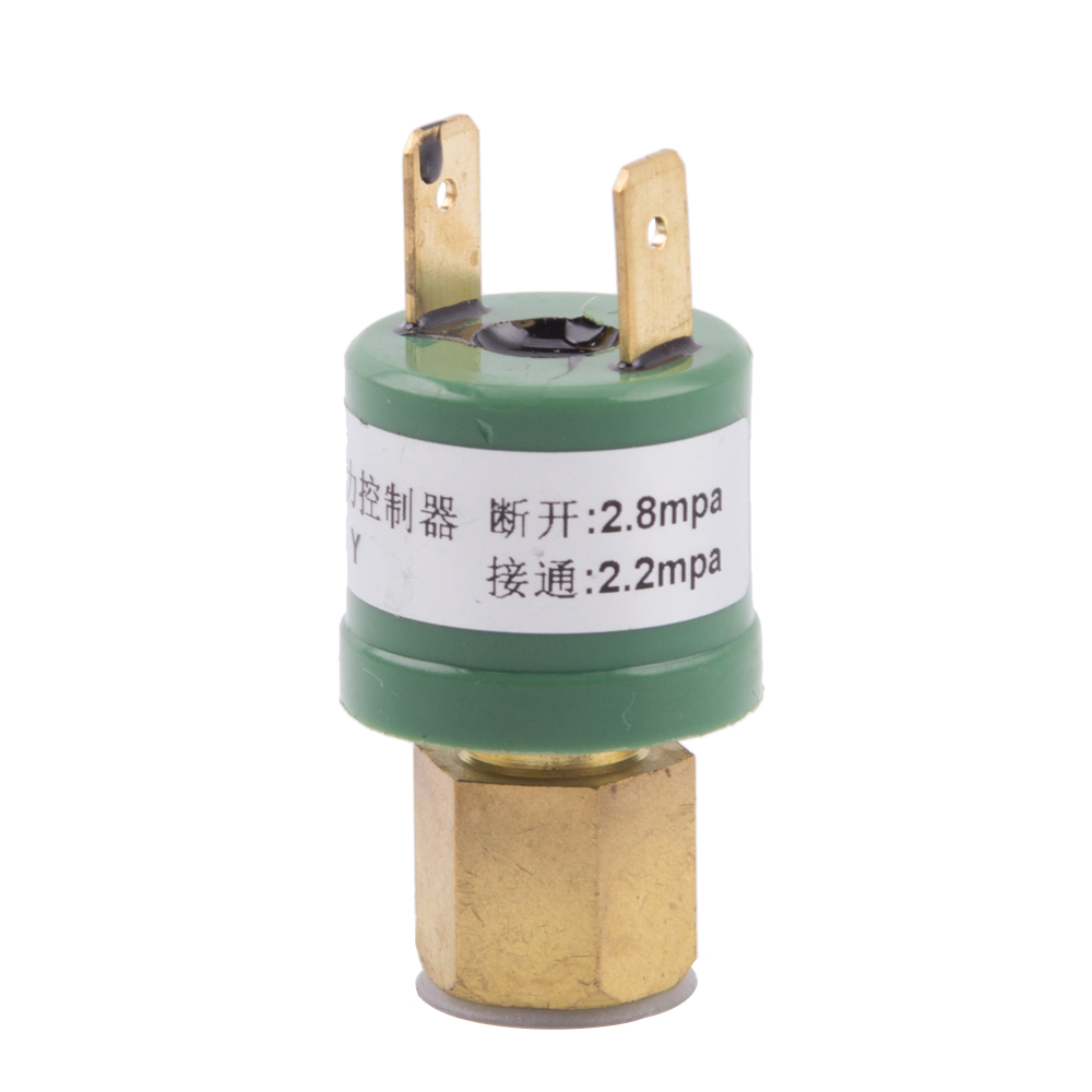 Air Conditioner High Low Pressure Sensor Controller 10mm Protection Open Switch Air Compressor Heat Pump Parts 2.2mpa2.8mpa