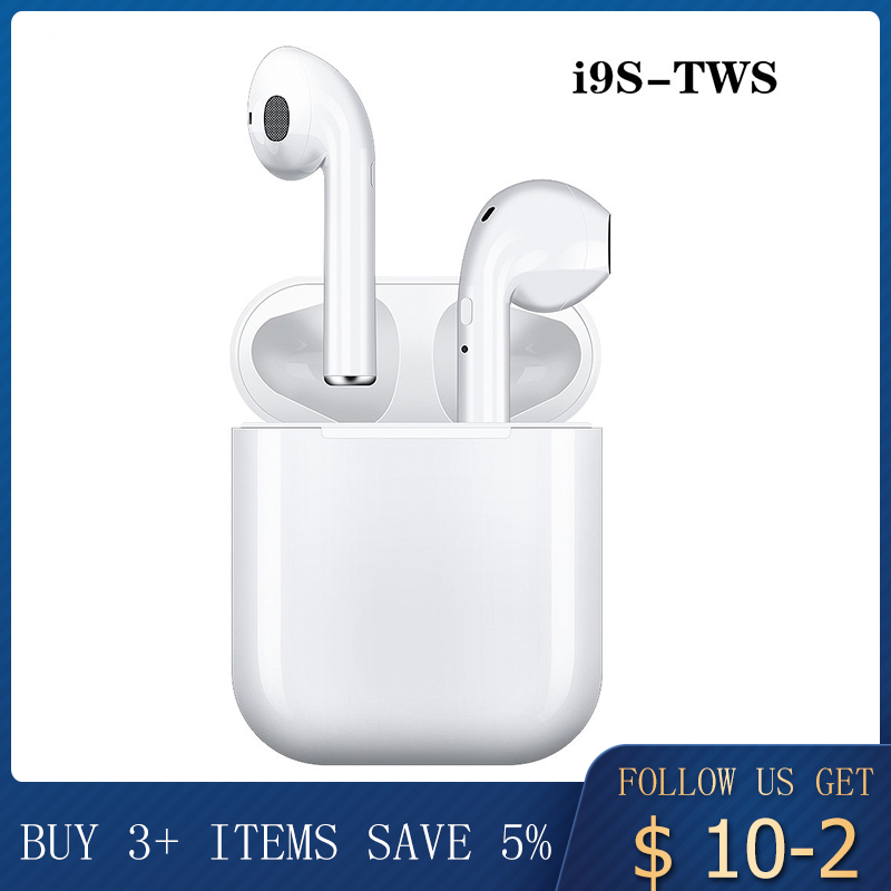 I9s I12s Tws Earphone Wireless Bluetooth 5.0 Earphone Mini Earbuds With Mic Charging Box Sport Headset For Smart Phone